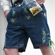 Trachtenhose aus Jeans von der Hosen Äktschn `z Minga